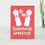 Seasonings Greetings Holiday Card