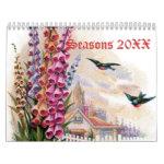 Seasons 20XX Calendar