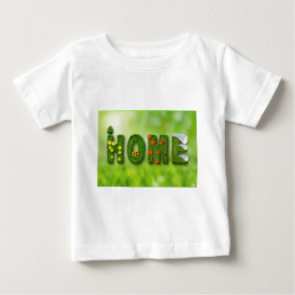 seasons-846051 HOME GREEN TYPOGRAPHY BACKGROUNDS W Baby T-Shirt