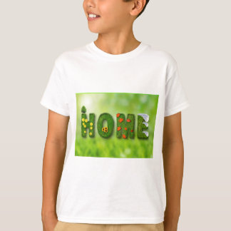 seasons-846051 HOME GREEN TYPOGRAPHY BACKGROUNDS W T-Shirt