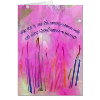 Seasons Birthday Card