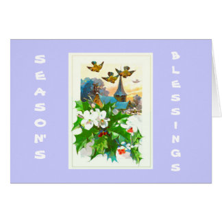 Season's Blessings Greeting Cards