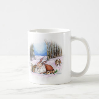 Season's Bunny Classic White Coffee Mug
