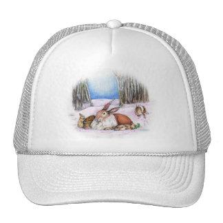 Season's Bunny Trucker Hat