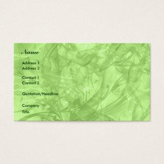 Seasons Business Card
