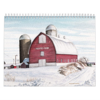 Seasons Calendar by Michael Martin
