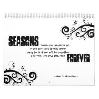 Seasons Calender Calendar