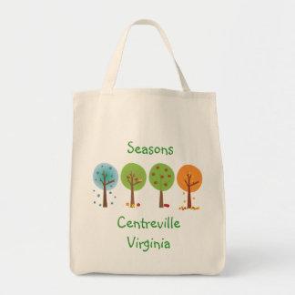 Seasons - Centreville Virginia Tote Bag