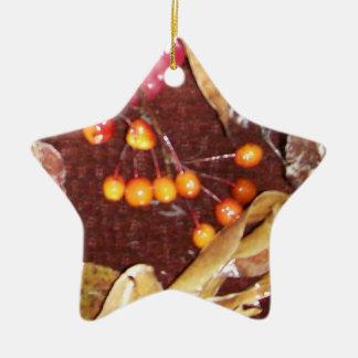Seasons Ceramic Ornament