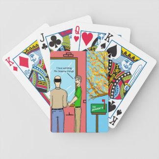 """Seasons Change"" Bicycle Playing Cards"
