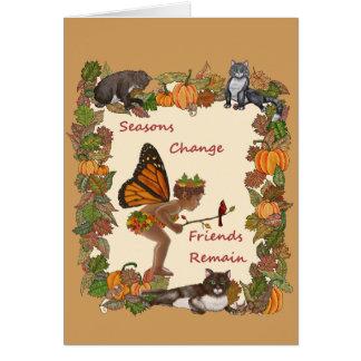 Seasons Change Card