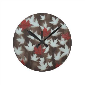 Seasons Change Round Clock