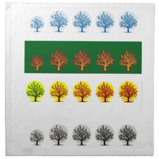 seasons cloth napkin