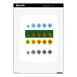 seasons decals for the iPad 2