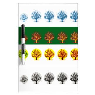 seasons Dry-Erase board