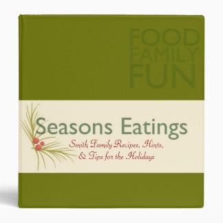 Seasons Eatings 3 Ring Binders