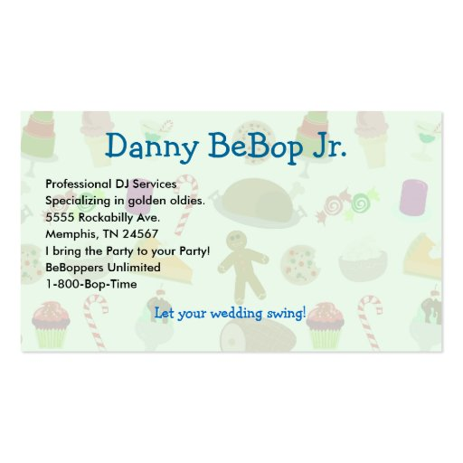 Season's Eatings Business Cards