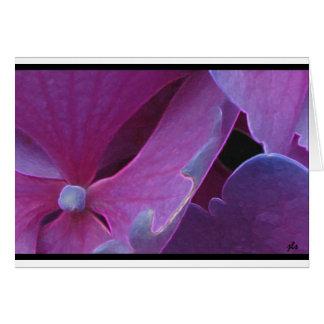 seasons:  flora series [winter] card