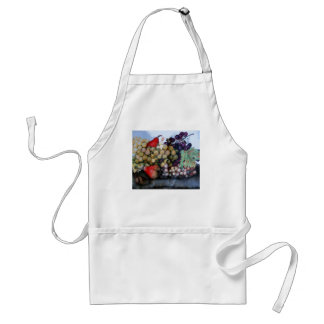 SEASON'S FRUITS 1 - GRAPES AND PEARS ADULT APRON