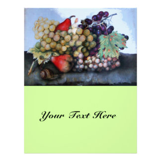 SEASON'S FRUITS 1 - GRAPES AND PEARS FLYER