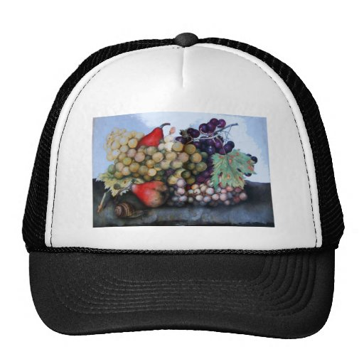 SEASON'S FRUITS 1 - GRAPES AND PEARS HAT