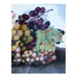 SEASON'S FRUITS 1 - GRAPES AND PEARS LETTERHEAD
