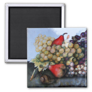 SEASON'S FRUITS 1 - GRAPES AND PEARS MAGNET