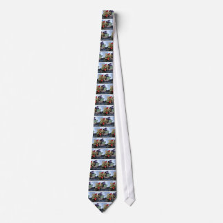 SEASON'S FRUITS 1 - GRAPES AND PEARS NECK TIE