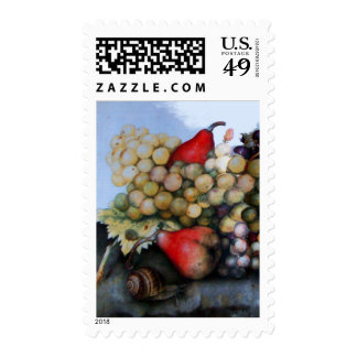 SEASON'S FRUITS 1 - GRAPES AND PEARS STAMPS