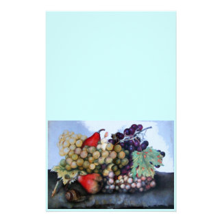 SEASON'S FRUITS 1 - GRAPES AND PEARS STATIONERY