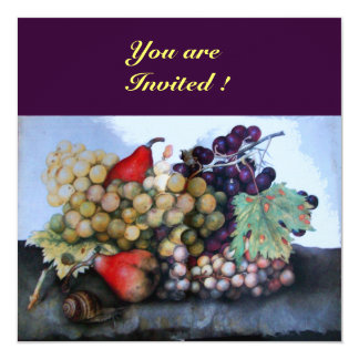 SEASON'S FRUITS 1 INVITATION