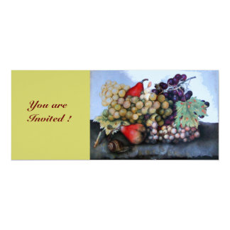 SEASON'S FRUITS 1 PERSONALIZED INVITATIONS