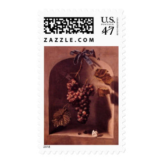 SEASON'S FRUITS 1 -PROSPERITY,antique red  pink Postage