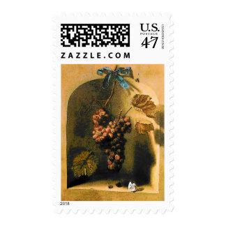 SEASON'S FRUITS 1 -PROSPERITY,yellow brown green Postage Stamp