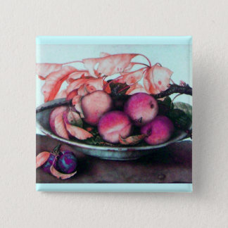SEASON'S FRUITS 2 PINBACK BUTTON