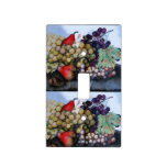 SEASON'S FRUITS /GRAPES AND PEARS SWITCH PLATE COVER