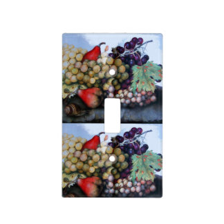 SEASON'S FRUITS /GRAPES AND PEARS LIGHT SWITCH COVERS