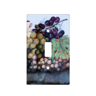 SEASON'S FRUITS /GRAPES SWITCH PLATE COVERS