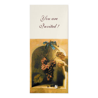 SEASON'S FRUITS - PROSPERITY ,brown yellow gold Card
