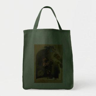 SEASON'S FRUITS -PROSPERITY brown yellow green Bags