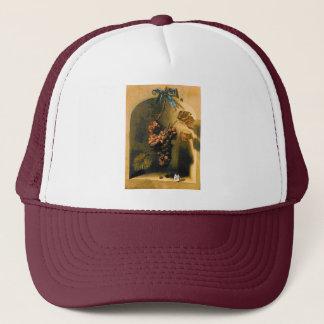 SEASON'S FRUITS -PROSPERITY brown yellow green Trucker Hat