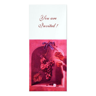 SEASON'S FRUITS - PROSPERITY ,pink red white ice Card