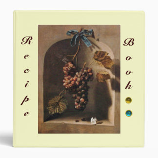 SEASON'S FRUITS -PROSPERITY  RECIPE BOOK yellow Binder