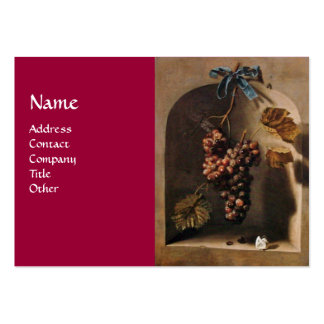 SEASON'S FRUITS - PROSPERITY ,yellow green brown Large Business Cards (Pack Of 100)