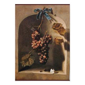 SEASON'S FRUITS - PROSPERITY ,yellow green brown 5x7 Paper Invitation Card