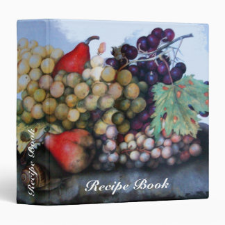 SEASON'S FRUITS RECIPE BOOK 3 RING BINDER