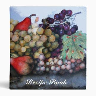 SEASON'S FRUITS RECIPE BOOK BINDER