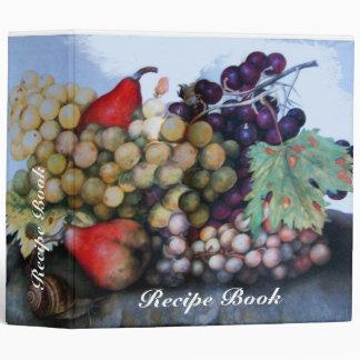 SEASON'S FRUITS RECIPE BOOK BINDERS