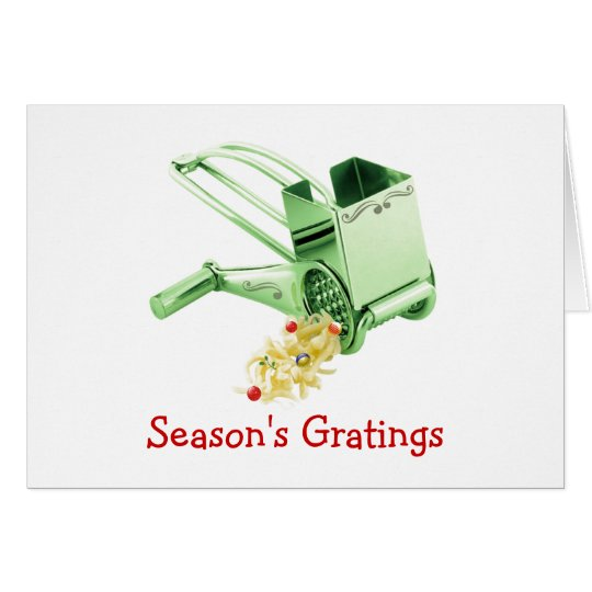 Season's Gratings Card