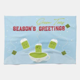 Season's Green Teas | Kitchen Towel